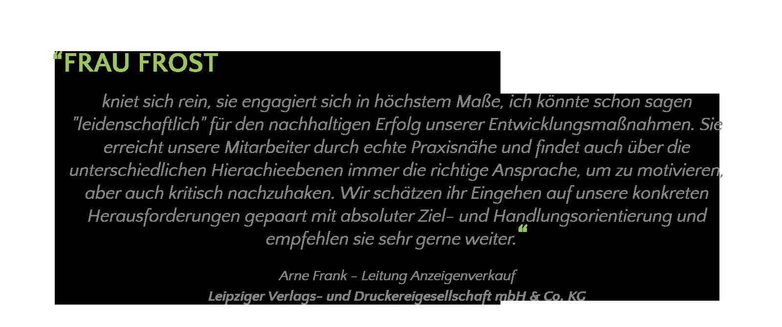 Carola Frost Trainerin Change Verlag