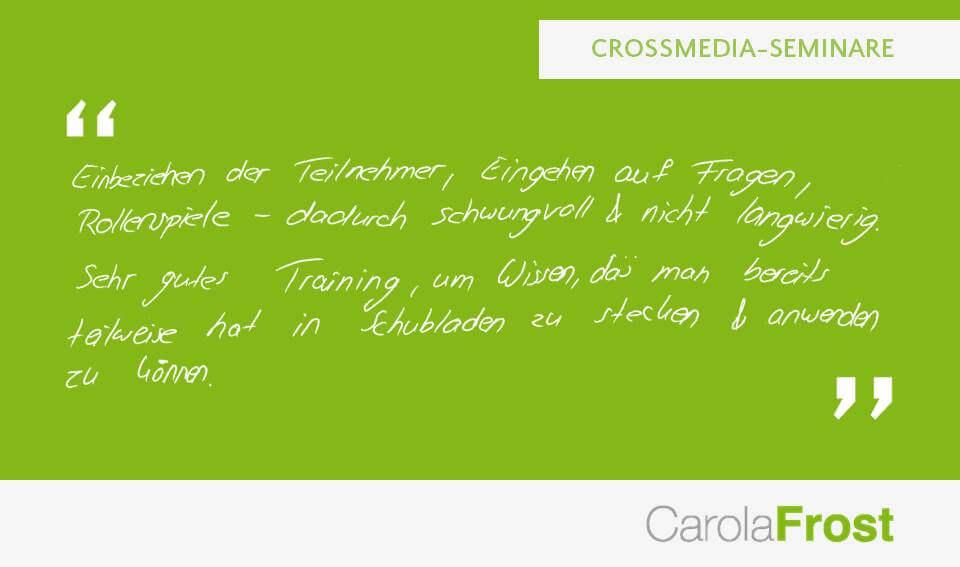 Carola Frost_Teilnehmer_Digitales Wissen