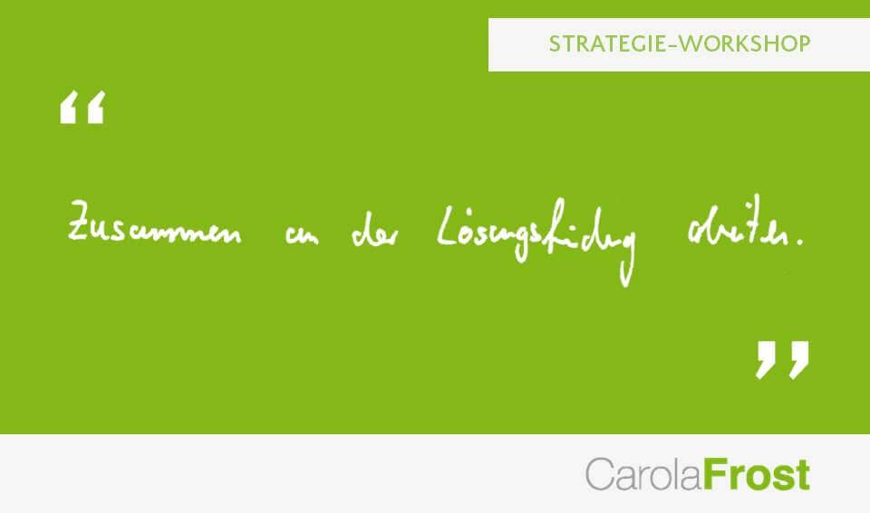 Carola Frost_Beurteilung_Vermarktungsstrategie