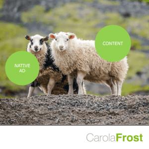 Carola Frost ZMG Native Advertising