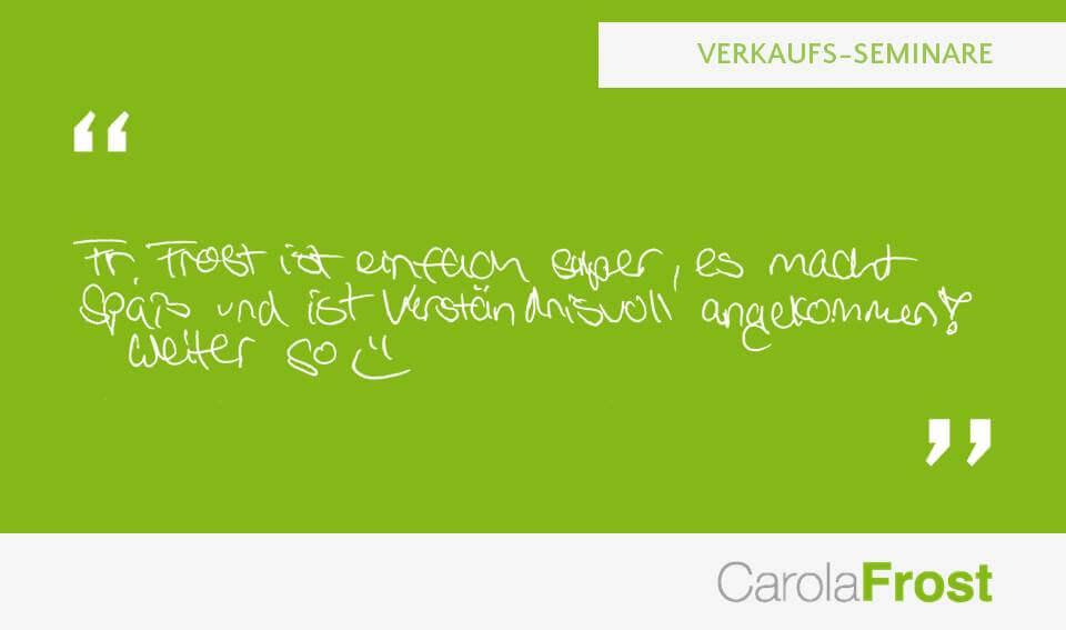 Carola Frost_Statement_Anzeigenverkauf