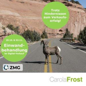 Einwandbehandlung im Digital-Verkauf_Carola Frost_ZMG