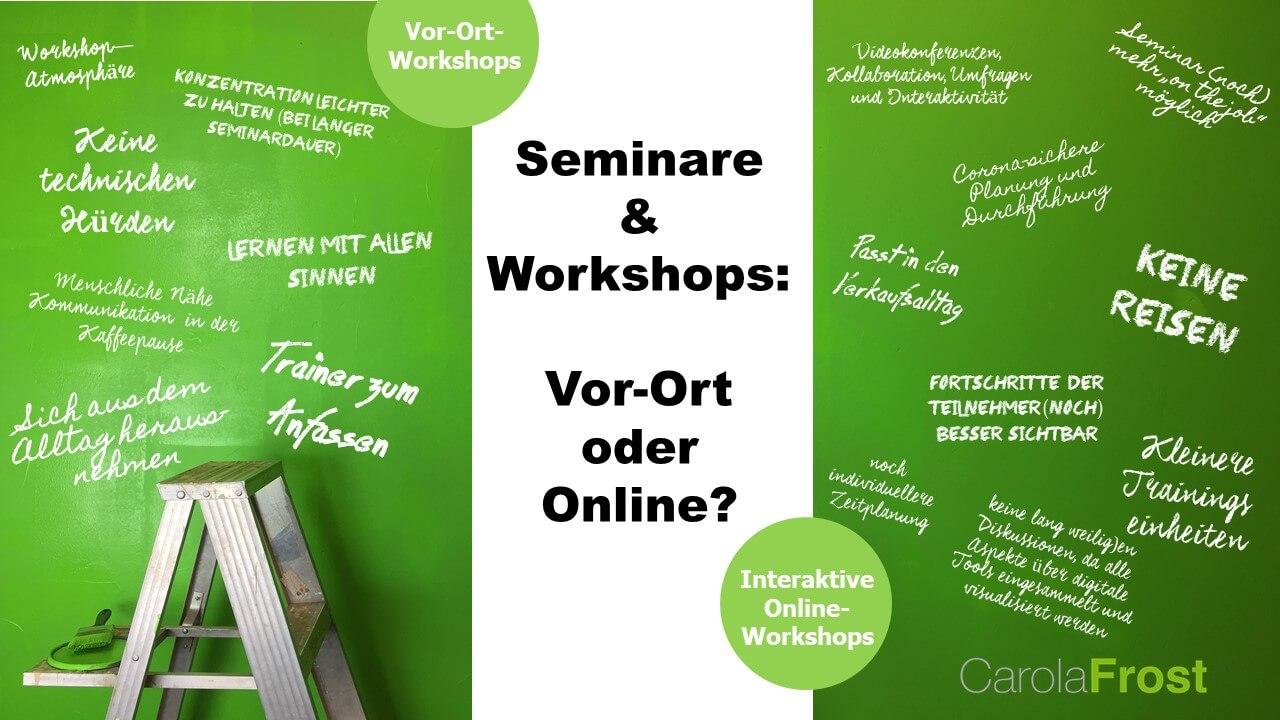 Seminare & Workshops_Vor Ort oder Online_Carola Frost