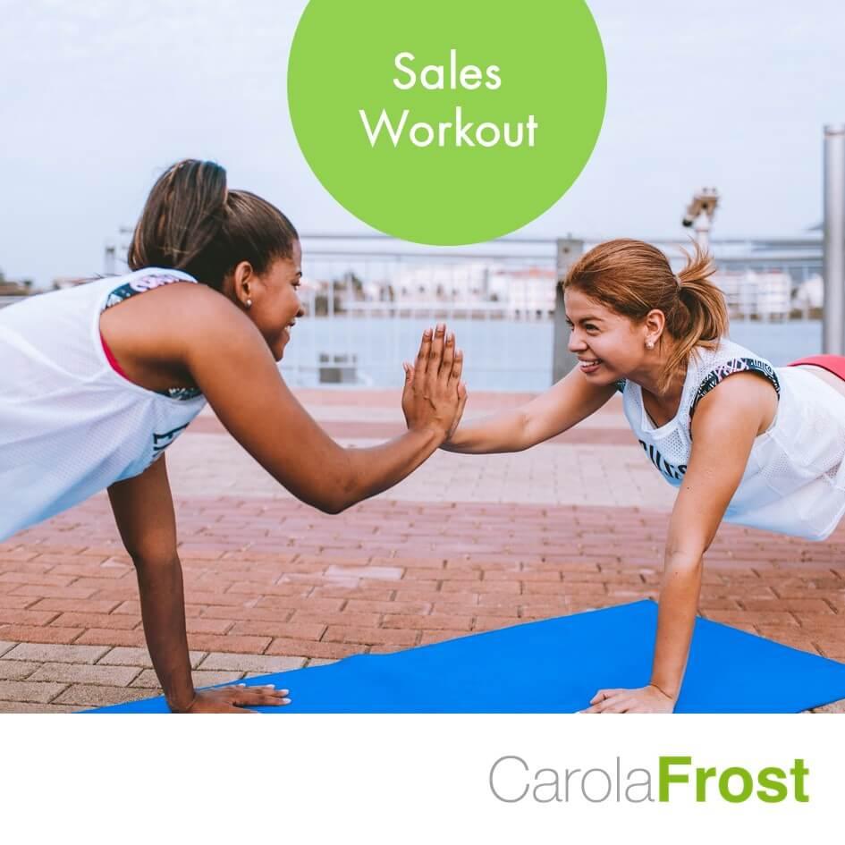 Carola Frost_Sales Workout
