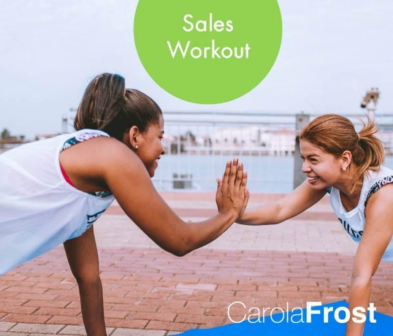 Sales Workout_Carola Frost